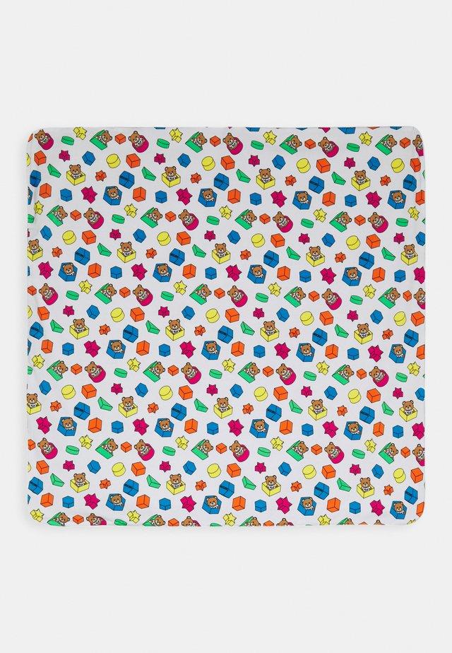 BLANKET ADDITION UNISEX - Coperta per neonati - white toy geometric