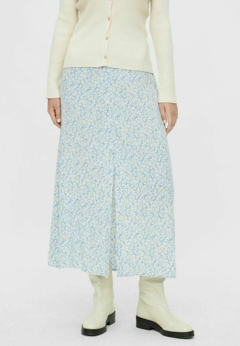 Pieces - A-line skirt - little boy blue