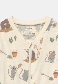 Lindex - MOLE AND FRIENDS UNISEX - Pyjamas - light beige - 2