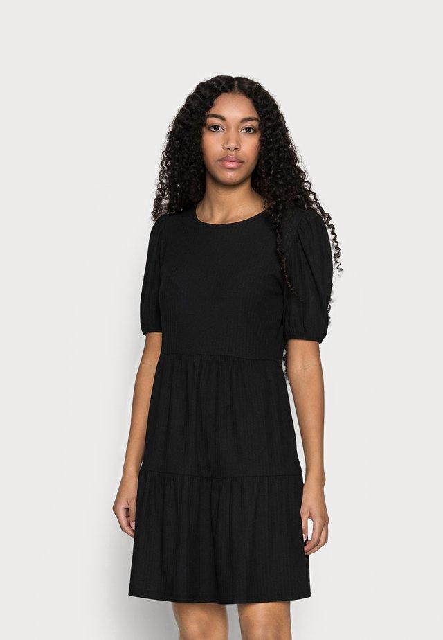 ONLNELLA SHORT DRESS  - Kjole - black