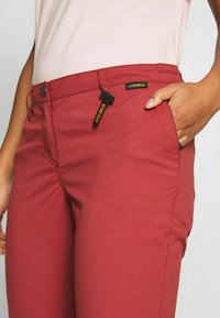 Jack Wolfskin - DESERT ROLL UP PANTS - Outdoor trousers - auburn - 5