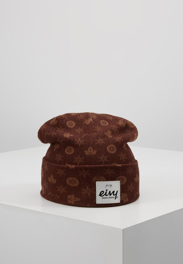 WATCHER - Beanie - brown