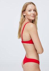 OYSHO - Bikinibroekje - red - 2
