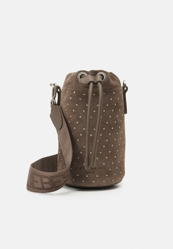 BUCKET BAG XS - Across body bag - deep taupe