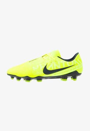 PHANTOM PRO FG - Moulded stud football boots - volt/obsidian/barely volt