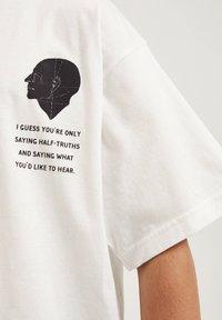 PULL&BEAR - T-shirt print - white - 5