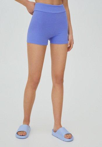 FROTTEE - Shorts - mottled dark purple
