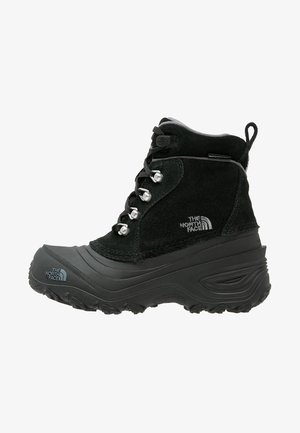Y CHILKAT LACE II - Talvisaappaat - tnf black/zinc grey