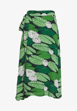 JASMIN SKIRT - Wrap skirt - green aakander