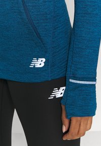 New Balance - HEAT GRID HOODIE - Hoodie - blue - 6
