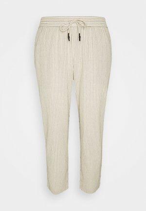 ONSLINUS LIFE CROP TAP PANT - Kalhoty - off-white