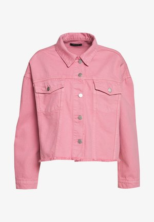 Jeansjakke - pink