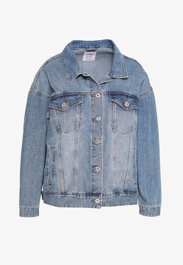 CURVE BOYFRIEND JACKET - Denim jacket - new vintage blue