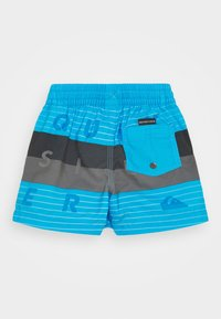 Quiksilver - WORD BLOCK VOLLEY BOY - Swimming shorts - blue - 1