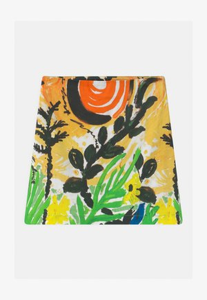 GONNA - Mini skirt - emerald green