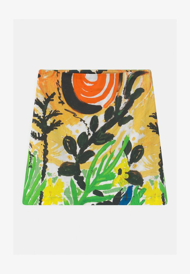 GONNA - Mini skirts  - emerald green