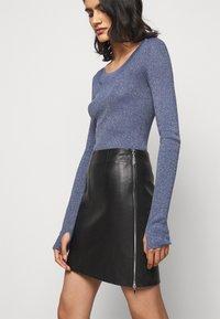 HUGO - LOMIAS - Mini skirt - black - 3