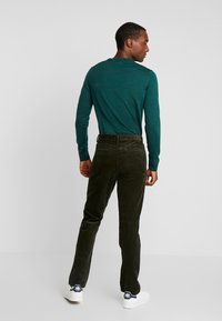 Sisley - Trousers - khaki - 2