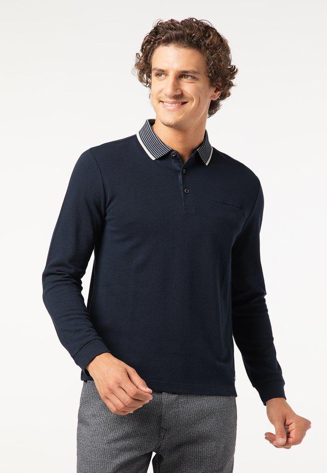 LONGSLEEVE - Poloshirt - blau