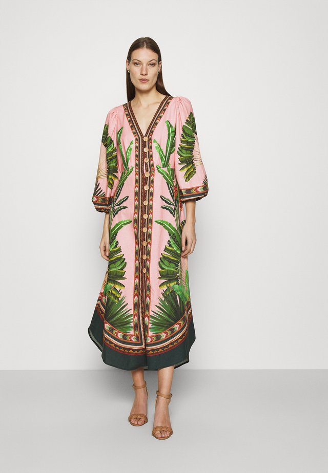 AMAZONIA FOREST MAXI DRESS - Maxi šaty - multi