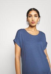 ONLY - ONLMOSTER ONECK - T-shirts - vintage indigo - 3
