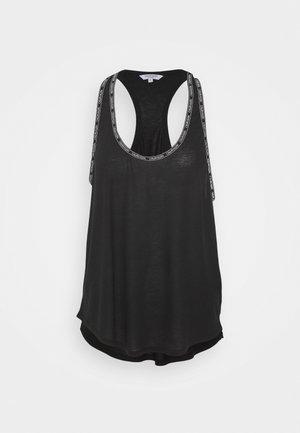CORE LOGO TAPE TOP - Pyjamashirt - black