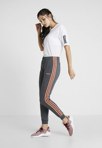 adidas Performance - PANT - Tracksuit bottoms - dark grey - 1