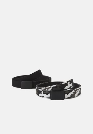 UNISEX 2 PACK - Belt - black