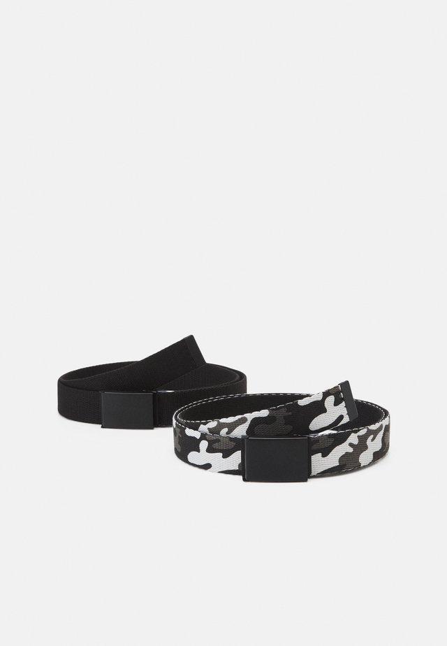 UNISEX 2 PACK - Belte - black