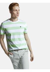 TOM TAILOR DENIM - Print T-shirt - mint block - 3