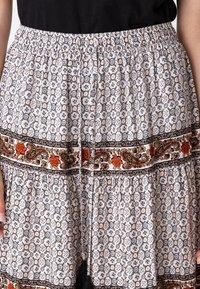 Indiska - ORA - Áčková sukně - beige - 3