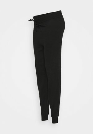 LOUNGE JOGGER - Tracksuit bottoms - black