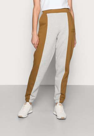 ORGANIC PATTY BLOCK - Teplákové kalhoty - multi medium grey melange