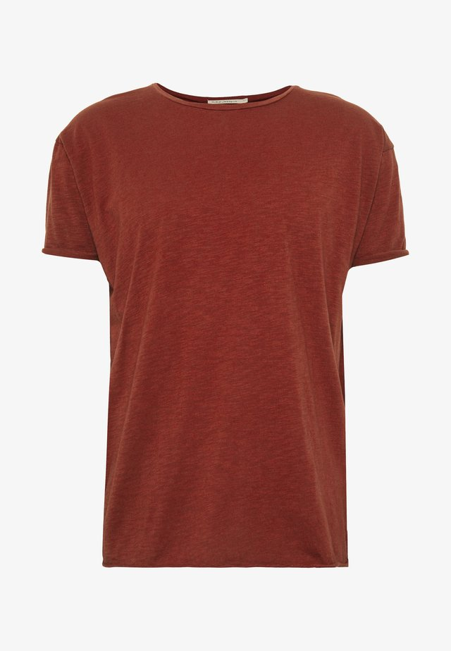 ROGER - T-shirt basique - brick red