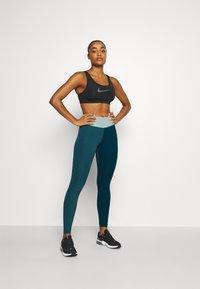 Nike Performance - ONE LUXE - Leggings - dark teal green - 1
