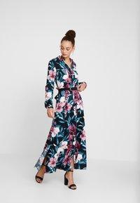 Mavi - PRINTED DRESS - Shirt dress - black - 1