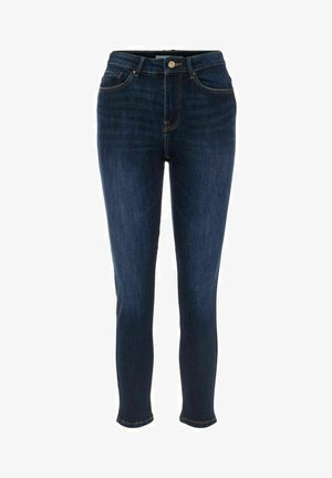 Jeansy Slim Fit - dark blue denim