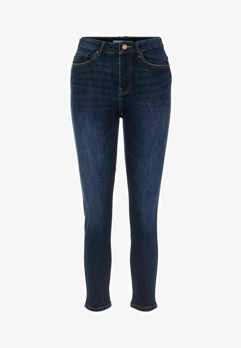 Pieces - Slim fit jeans - dark blue denim