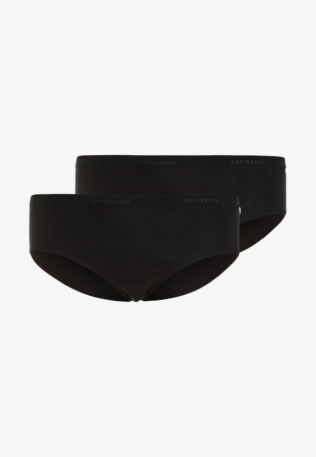 95/5 2 PACK - Slip - schwarz