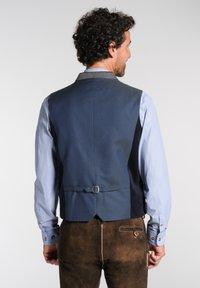 Spieth & Wensky - NAAB-WESTE H E - Waistcoat - dark blue - 1