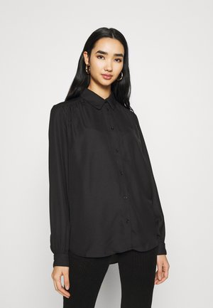 ONLENVY - Button-down blouse - black