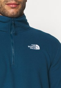 The North Face - GLACIER 1/4 ZIP  - Fleece jumper - monterey blue - 4