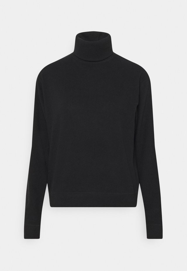 SHOWA ROLL NECK - Pullover - black