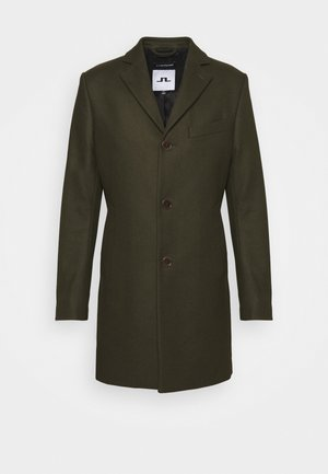 WOLGER COMPACT MELTON COAT - Cappotto classico - seaweed green