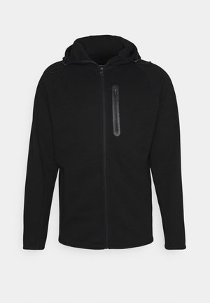 JJESPORT ZIP HOOD - Zip-up hoodie - black