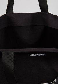 KARL LAGERFELD - SHOPPER - Shoppingveske - black - 4