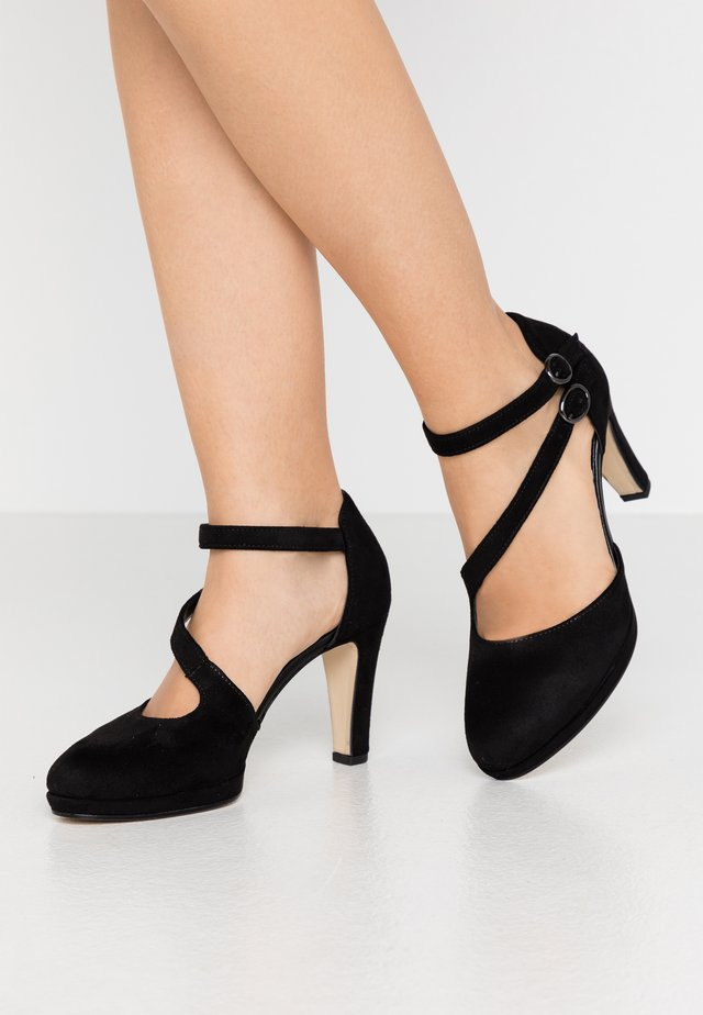 High Heel Pumps - schwarz