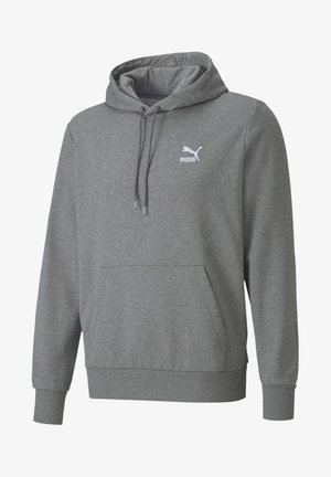 CLASSICS EMBROIDERED - Hoodie - medium gray heather