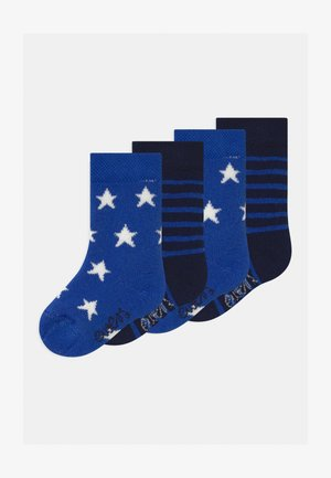 STARS STRIPES 4 PACK - Socks - mittelblau
