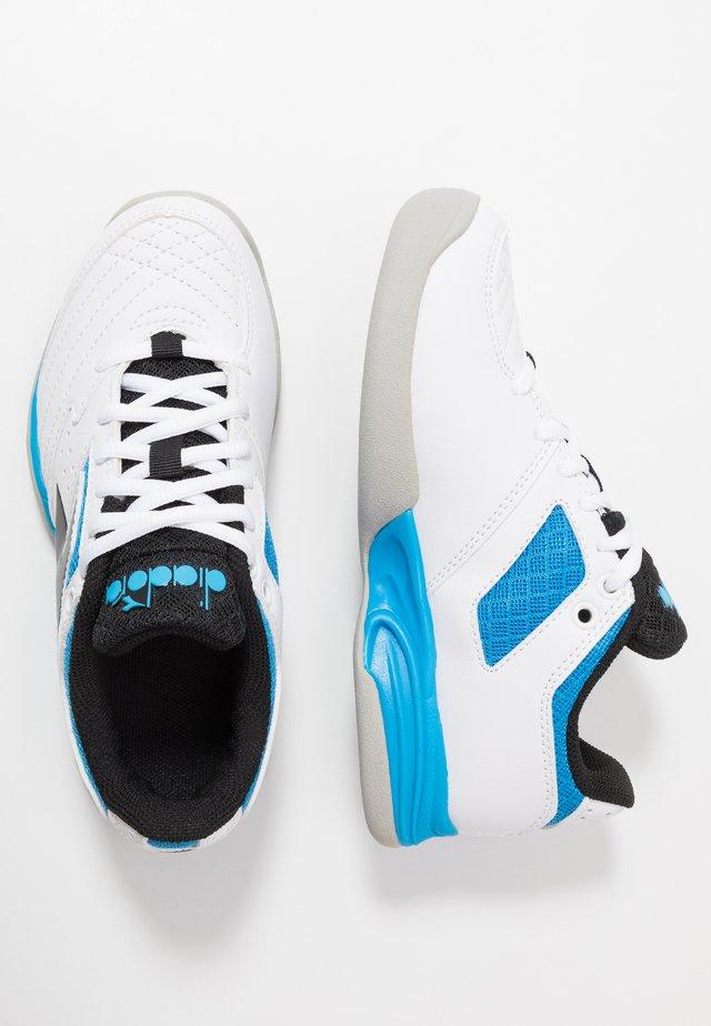 CHALLENGE 2 YOUTH CARPET - Carpet court tennis shoes - white